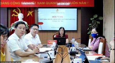 Ủy ban Kiểm tra Công đoàn Giáo dục Việt Nam tổ chức Hội nghị triển khai Chương trình công tác năm học 2021-2022